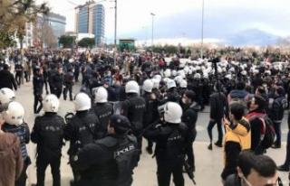 Boğaziçi'ne destek eylemine polis müdahalesi