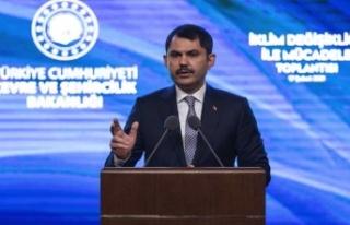 Çevre ve Şehircilik Bakanı Murat Kurum: İklim...