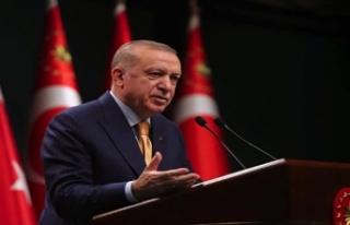 Cumhurbaşkanı Erdoğan: İllere göre sınıflandırma...