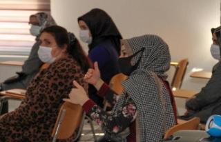 Esenyurt belediyesi kadın sosyal yaşam Merkezi'nde...