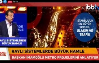 İBB Başkanı Ekrem İmamoğlu canlı yayında...