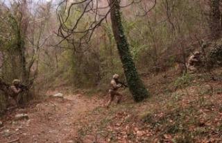 İçişleri Bakanlığı: 10 ayrı bölgede PKK'ya...