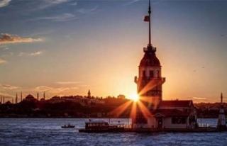 İstanbul'da sıcaklıklar artıyor