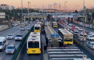 İstanbul'da toplu taşıma yasağı hakkında...