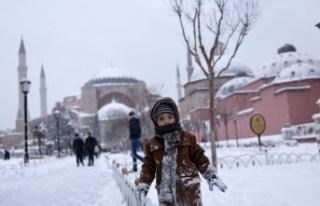 Kara kış karla birlikte geri geliyor! 20 derece...