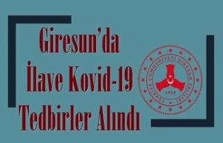 Koronavirüs vaka sayısında 4. sırada olan Giresun'da...