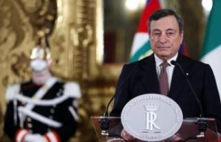 Mario Draghi İtalya'nın yeni başbakanı olarak...