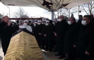Muhammed Emin Saraç'ın cenaze törenine yoğun...