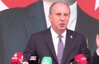 Muharrem İnce CHP'den istifa etti: CHP'ye...