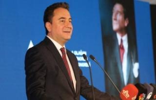 Ali Babacan AK Parti Genel Başkanı ve Cumhurbaşkanı...