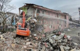 Büyükçekmece'de deprem hazırlık çalışmalarına...