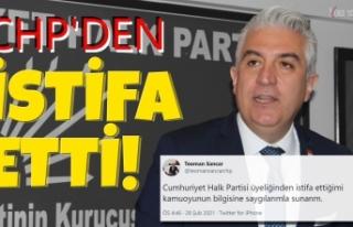 CHP'den istifa eden Denizli Milletvekili Teoman...