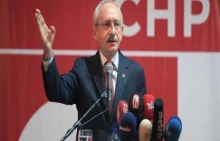 CHP Genel Başkanı Kemal Kılıçdaroğlu: Hakkınızı...