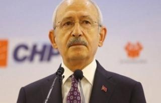 CHP Genel Başkanı Kemal Kılıçdaroğlu 'ndan...