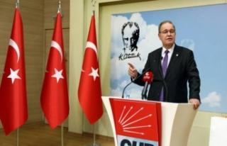 CHP Sözcüsü Faik Öztrak gündeme dair değerlendirmelerde...