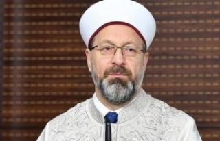 Diyanet İşleri Başkanı Ali Erbaş'ın aşı...