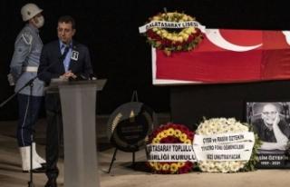 İBB Başkanı Ekrem İmamoğlu: Rasim Öztekin'e...