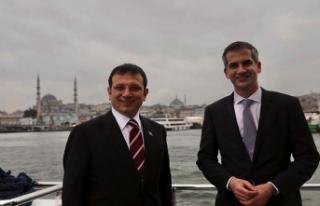 İBB Başkanı İmamoğlu Atina Belediye Başkanı'nı...