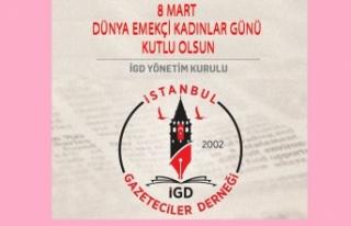 İGD: 'Kadını ikinci plana atan toplumlar gerilemeye...