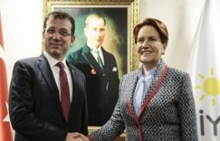 İYİ Parti Genel Başkanı Akşener: İmamoğlu'nun...