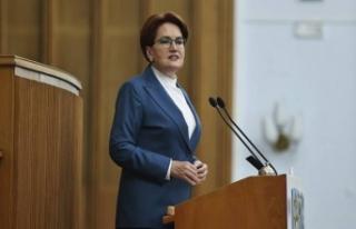 İYİ Parti Genel Başkanı Meral Akşener grup toplantısında...