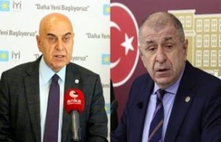 İYİ Partili Cihan Paçacı istifa eden Ümit Özdağ...