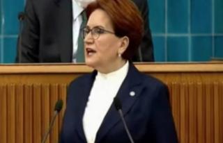 Meral Akşener: Erdoğan'a seslendi bak şimdiden...