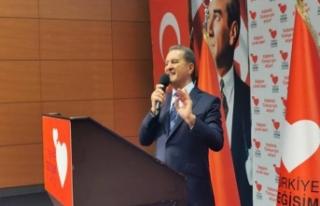 Mustafa Sarıgül TDP Kurucuları ile değerlendirme...