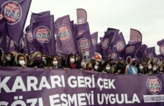 O tarihe işaret edildi ve İstanbul Sözleşmesi'nden...