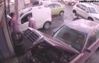 1 Milyon 250 bin TL soygun yapan Meksikalı kamerada