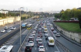 82 saatlik kısıtlama sonrası İstanbul'da...