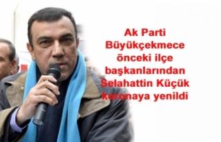 Ak Parti Büyükçekmece önceki ilçe başkanlarından...