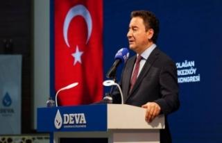 Ali Babacan: Tekirdağ'da partisinin 1. Olağan...
