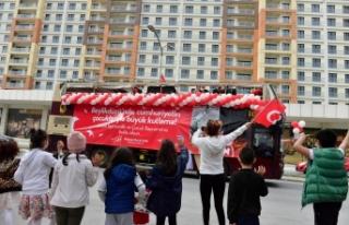 BEYLİKDÜZÜ'NDE 23 NİSAN COŞKUYLA KUTLANDI