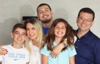 Ekrem İmamoğlu'nun eşi ve 2 çocuğunun covid...