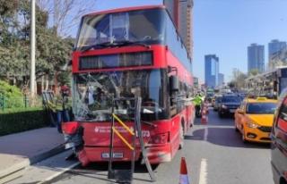 İETT otobüsü kaza yaptı: 1 ölü, 1 yaralı