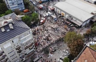 İzmir depreminde yıkılan binalarla ilgili flaş...