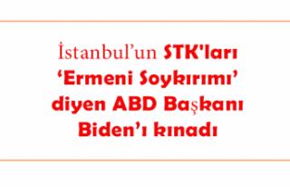 STK'lar 'Ermeni Soykırımı' diyen ABD Başkanı...
