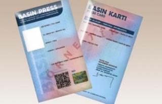 Basın kartı yönetmeliğinde değişiklik