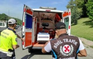 Boş ambulanslara çakar cezası