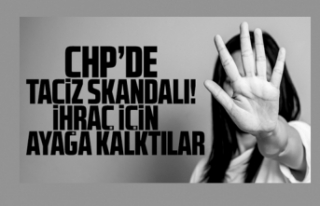 CHP Çatalca'da taciz krizi! İhraç için ayağa...
