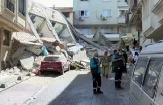 İstanbul'da bina çöktü! Ekipler bölgeye...