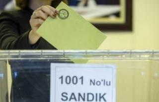Türkiye'de 753 yerde 6 Haziran'da seçim...