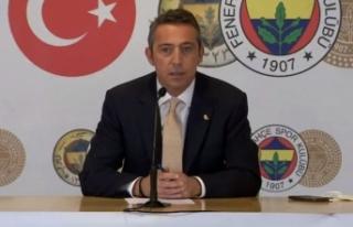 Ali Koç'tan teknik direktör itirafı: Kimse...