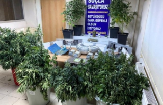 Beylükdüzü'nde villa uyuşturucu imalathanesi...