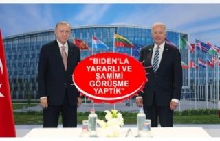Cumhurbaşkanı Recep Tayyip Erdoğan ile ABD Başkanı...