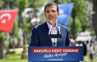 Ekrem İmamoğlu'ndan Erdoğan'a Kanal İstanbul...