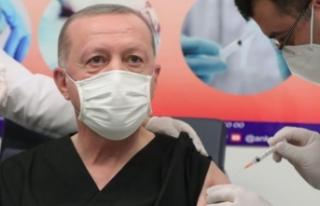 Erdoğan'ın '3 doz aşı oldum' sözlerinin...