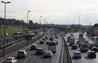 İstanbul'da trafik yoğunluğu arttı