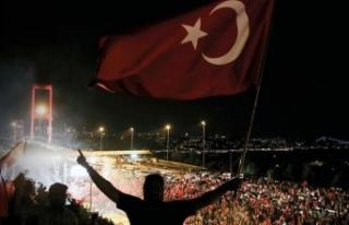 15 Temmuz Demokrasi ve Milli Birlik Günü'nde...